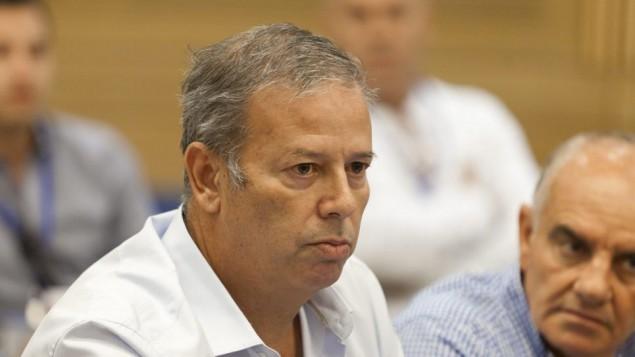 شمعون غابسو، رئيس بلدية نتسيرت عيليت سابقا، 30 اكتوبر 2013 (Flash 90)