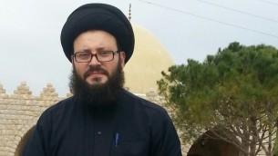 رجل الدين اللبناني محمد علي الحسيني (Facebook image)