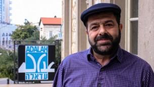 """حسن جبارين، مؤسس ومدير جمعية الحقوق العربية """"عدالة"""" (courtesy/Adalah)"""