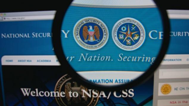صورة للصفحة الرئيسية لموقع وكالة الأمن القومي الأمريكية (صورة توضيحية via Shutterstock.)