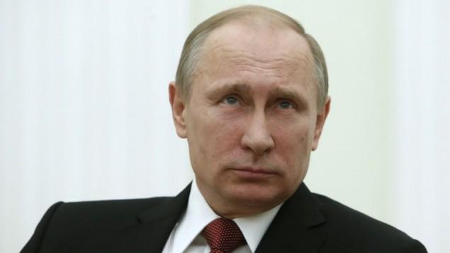 الرئيس الروسي فلاديمير بوتين في الكرملين، 5 مارس 2015 (SERGEI KARPUKHIN / POOL / AFP)