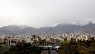 مدينة طهران، 25 مارس 2015 (BEHROUZ MEHRI / AFP)