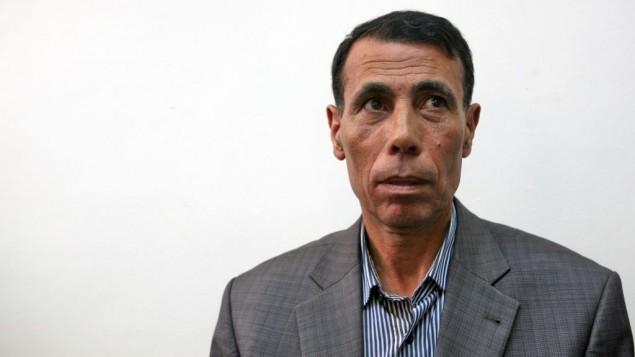 المسؤول في فتح حاتم عبد القادر في محكمة في القدس، 4 اكتوبر 2009 (Matanya Tausig/Flash90)