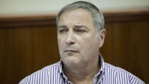 مدير دائرة أراضي إسرائيل، بنسي ليبرمان، 22 سبتمبر، 2014. (Yonatan Sindel/Flash90)