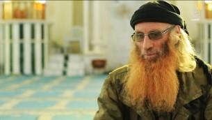 ابو صهيب الفرنسي في فيديو دعائي نشره تنظيم الدولة الإسلامية (screen capture YouTube)