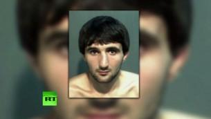 ابراهيم توداشيف الذي قتل خلال استجوابه في 2013 على هامش اعتداءات بوسطن (YouTube screen capture)