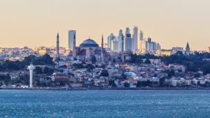 مدينة اسطنبول، تركيا (CC BY-SA 2.0 Ben Morlok, Wikipedia)