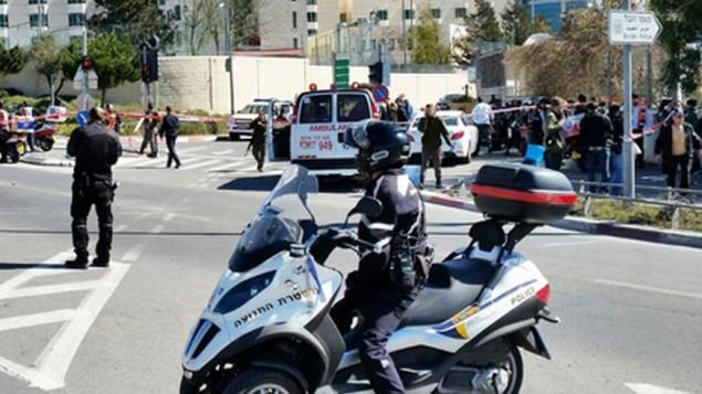 شمال القدس يوم الجمعة 6 مارس، 2015 Channel 2 News