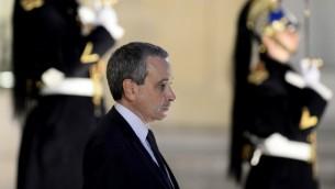 لوران ستيفانيني الذي عين سفير فرنسا للفاتيكان، بالرغم من صمت الفاتيكان بالنسبة لقوبله لهذا المنصب،  10 ابريل 2015 (ALAIN JOCARD / AFP)