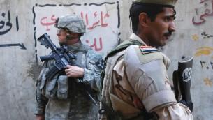 صورة توضيحية لجندي امريكي في العراق، 5 ابريل 2007 (CC BY 2.0 Expert Infantry, Flickr)