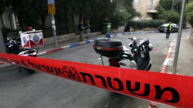 صورة توضيحية لحادث دهس وفرار في القدس (Matanya Tausig/Flash90)
