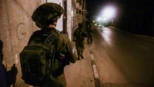 صورة توضيحية لجندي اسرائيلي، 2 مارس 2015 (IDF spokesperson's office)