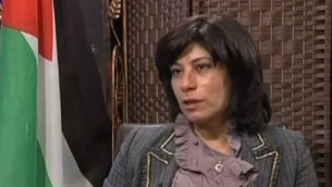 العضو في الجبهة الشعبية لتحرير فلسطين خالدة جرار. (لقطة من  YouTube)