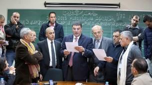 فوز كتلة الوفاء الاسلامية بانتخابات المجلس الطلابي في جامعة بير زيت (Public Relations Office - Birzeit University)