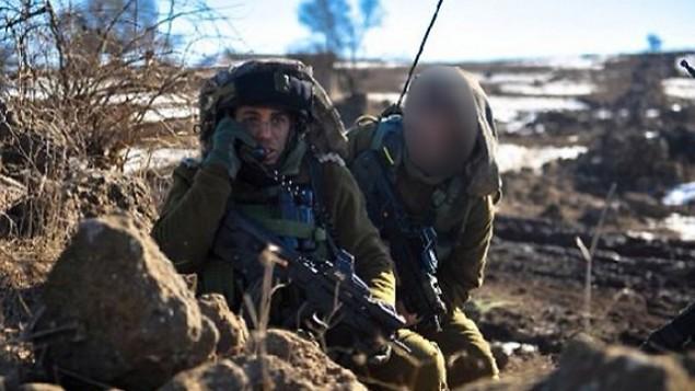 القائد السابق في لواء غيفعاتي، ليران حاجبي. (المتحدث بإسم الجيش الإسرائيلي)
