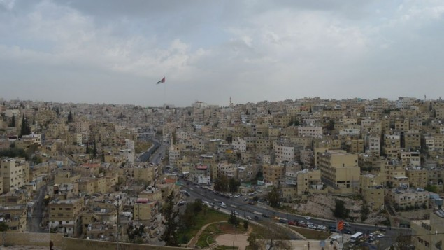 عمان، 29 مارس 2015 (Avi Lewis/Times of Israel, Benyamin Loudmer)