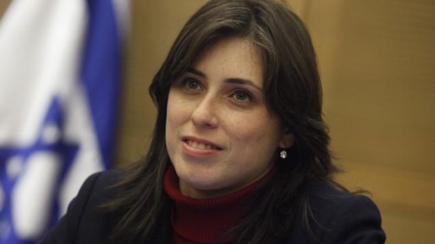 نائبة وزير الخارجية تسيبي حاطوفيلي. (Miriam Alster/Flash90)