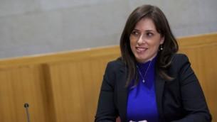 نائبة وزير الخارجية تسيبي حوتوفلي (Yonatan Sindel/Flash90)
