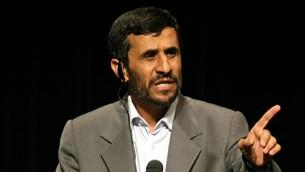 الرئيس الإيراني السابق محمود احمدي نجاد (CC BY Daniella Zalcman, Flickr)