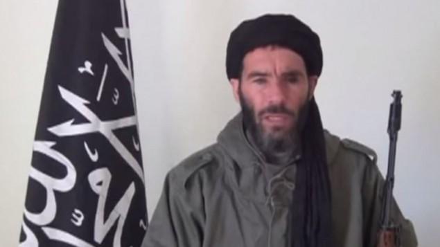 القيادي الجهادي المرتبط بالقاعدة مختار بلمختار (YouTube/MinWashingtonNews)
