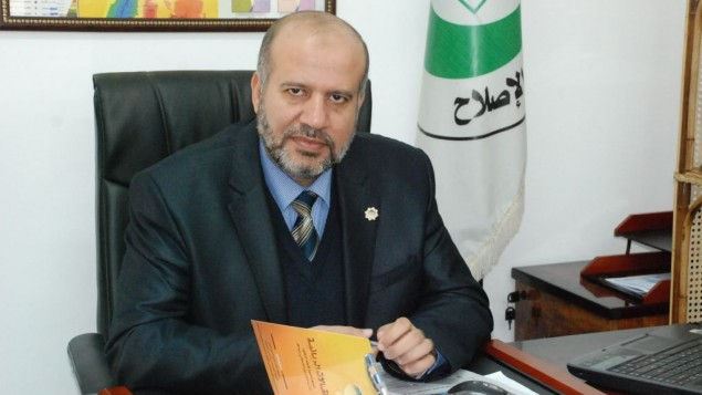 النائب اسماعيل الأشقر من حركة حماس (Facebook)