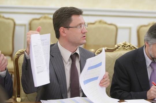 وزير الطاقة الروسي الكسندر نوفاك ( CC BY Government.ru, Wikipedia)