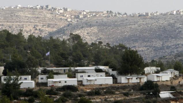 مستوطنة حلميش في الضفة الغربية (Miriam Alster/Flash90)