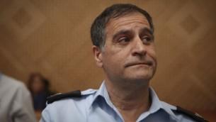 إفرايم براخا في المحكمة العليا في القدس، 20 أكتوبر، 2014. (Hadas Parush/Flash90)