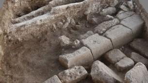 بقايا شارع روماني من ليجيو، معسكر من القرن الثاني والثالث قبل الميلاد بالقرب من مجدو (courtesy)