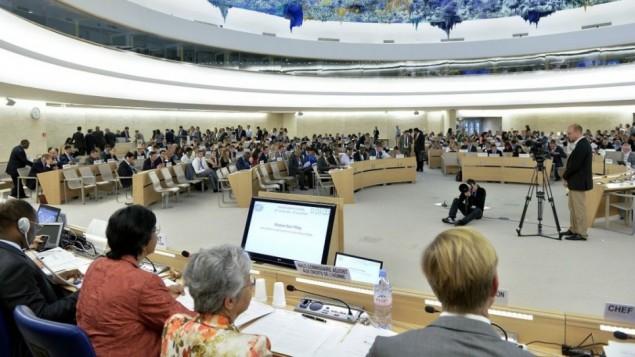 مجلس حقوق الإنسان في جنيف (UN/Jean-Marc Ferré)