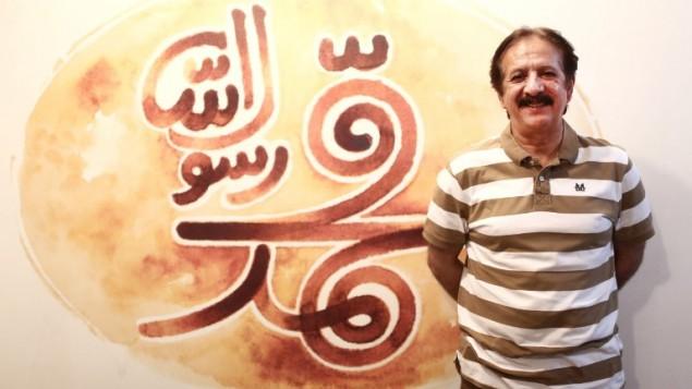 """المخرج الإيراني مجيد مجيدي خلال مقابلة مع وكالة فرانس برس حول فيلمه الجديد """"محمد رسول الله"""" في طهران، 25 اغسطس 2015 (BEHROUZ MEHRI / AFP)"""