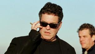 المخرج الإسرائيلي عاموس جيتاي (Moshe Shai/Flash90)