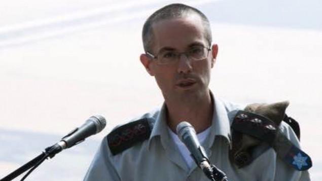 المدعي العام العسكري الجديد العقيد شارون افيك (IDF Spokesperson's Unit)