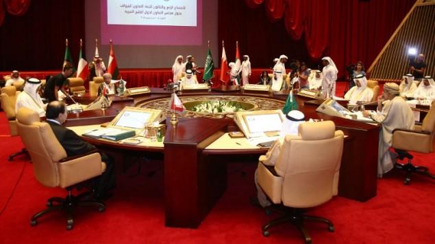 اجنماع لمجلس التعاون الخليجي، 10 سبتمبر 2015 (KARIM JAAFAR / AFP)