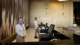 فندق نوفوتيل في مطار طهران الدولي، 15 سبتمبر 2015 (ATTA KENARE / AFP)