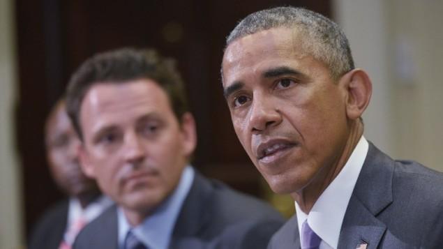 الرئيس الأمريكي باراك اوباما، 10 سبتمبر 2015 (MANDEL NGAN / AFP)