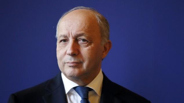 وزير الخارجية الفرنسي لوران فابيوس، 26 اكتوبر 2015 (PATRICK KOVARIK / AFP)