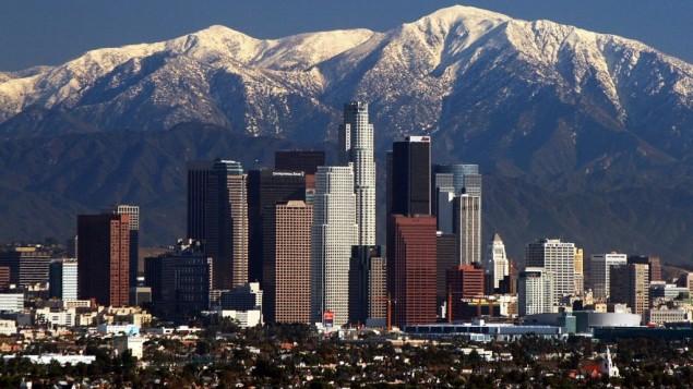 صورة توضيحية لمدينة لوس انجيليس (CC BY-SA Nserrano, Wikipedia)