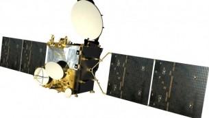 القمر الإصطناعي  عاموس 3. (photo credit: Spacecom via Tsahi Ben-Ami /flash90)