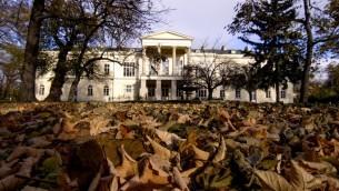 قصر كلام-غالاس في النمسا الذي باعته فرنسا لقطر، 11 نوفمبر 2015 (JOE KLAMAR / AFP)