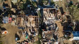 صورة توضيحية لنتائج إعصار في المكسيك، 24 أكتوبر 2015 (MARIO VAZQUEZ / AFP)