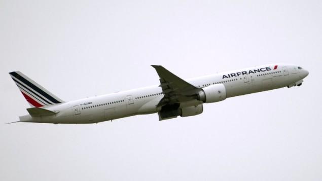 صورة توضيحية لطائرة تابعة لشركة اير فرانس (FRED DUFOUR / AFP)