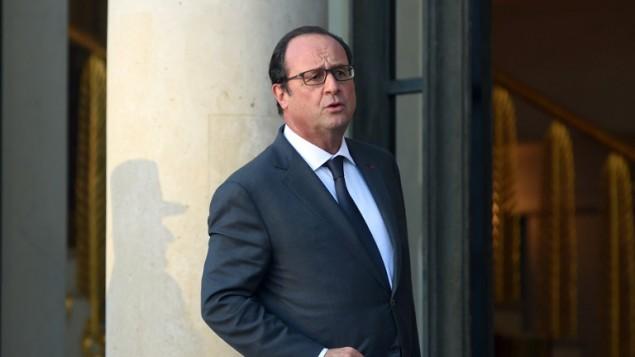 الرئيس الفرنسي فرنسوا هولاند، 10 نوفمبر 2015 (STEPHANE DE SAKUTIN / AFP)