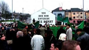 احياء الذكرى ال35 لأحداث الاحد الدام في ايرلندا الشمالية، 2007 (CC BY-SA neverending september, Flickr)