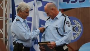 رئيس وحدة لاهاف 433 لمكافحة الفساد في الشرطة الإسرائيلية روني ريتمان، 31 أغسطس 2014 (Flash90)