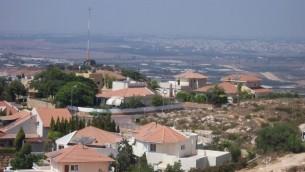 مستوطنة ألفيه منشيه بالضفة الغربية. (Wikimedia Commons/Jonathan Schilling/CC BY-SA 3.0)