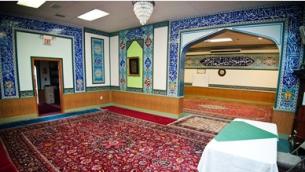 مسجد ماناساس في شمال فيرجينا. (Courtesy Manassas Mosque)