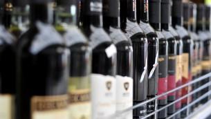 رف النبيذ الإسرائيلي (Sophie Gordon/Flash 90)