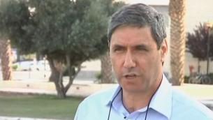 رئيس بلدية العفولة يتسحاك ميرون (YouTube/NEWSROOMNORTH1)