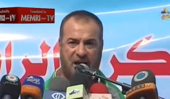 وزير الداخلية السابق في حكومة حماس فتحي حماس (لقطة شاشة YouTube )